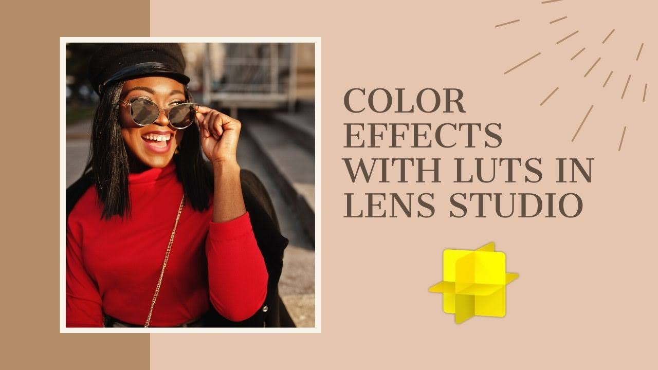 Color effects with LUTs in Lens Studio
