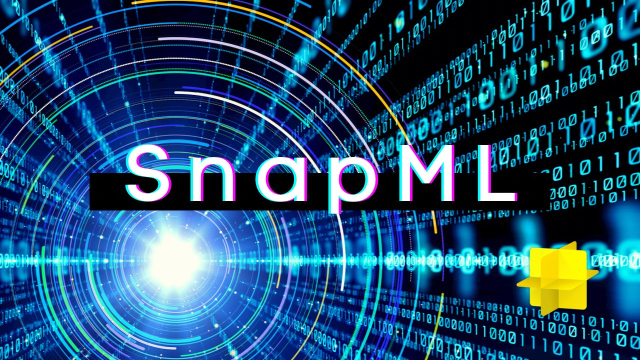 Getting started with SnapML