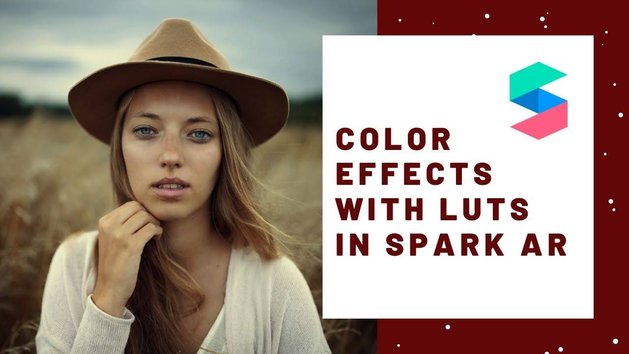 Color effects with LUTs in Spark AR Studio